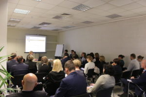 Prezentacja podczas spotkania z przedstawicielami sektora bankowego